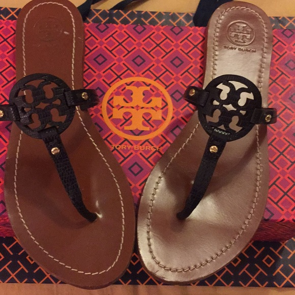 1e01088a1ca0 Tory Burch Shoes - 100% authentic Tory Burch mini miller sandals 7.5